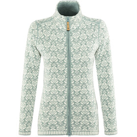 Fjällräven Snow Cardigan Women Frost Green